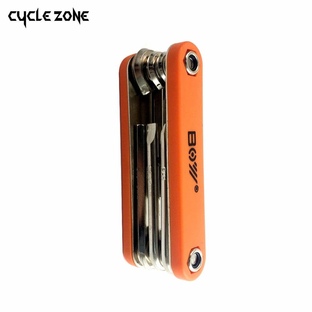 15 pièces/ensemble montagne vélo BIKEHAND Patchs vélo accessoires réparation cas outils de diagnostic Kit cyclisme chaîne boîte - 5