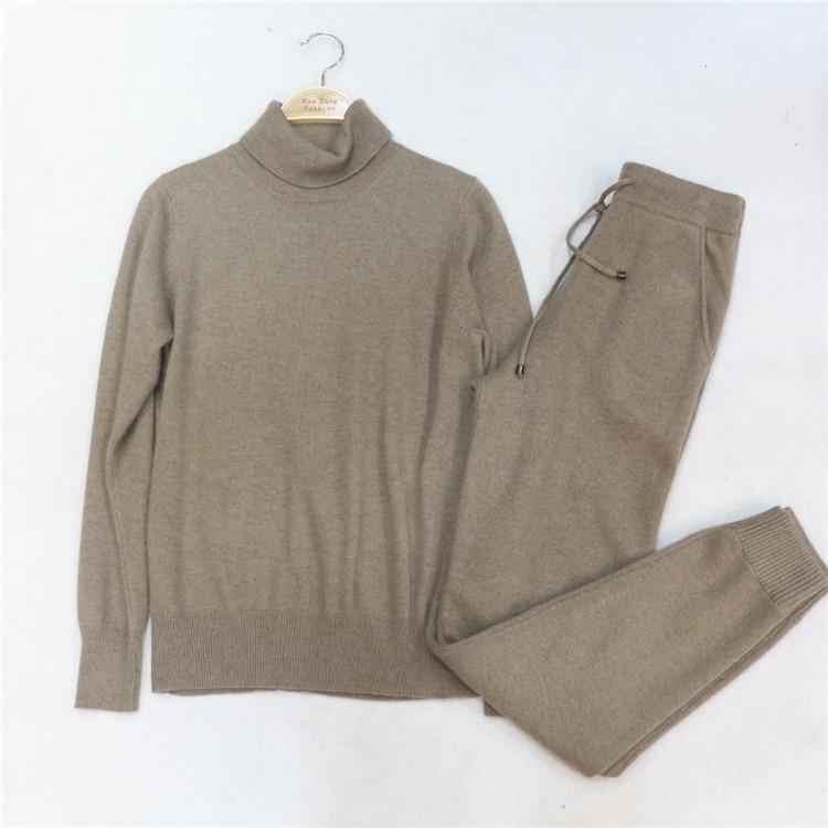 2016 Sale Wool Full The Spring Of 2017 New Knitted Suit High Collar Velvet font b
