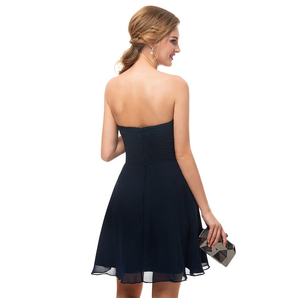 1bf2dd4e67a6 Cute Navy Blue Bridesmaid Dresses