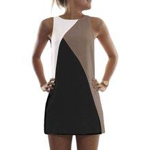 Sommer Frauen Sleeveless Abendgesellschaft Strandkleid Beiläufige Kurze Mini Kleider Vestidos