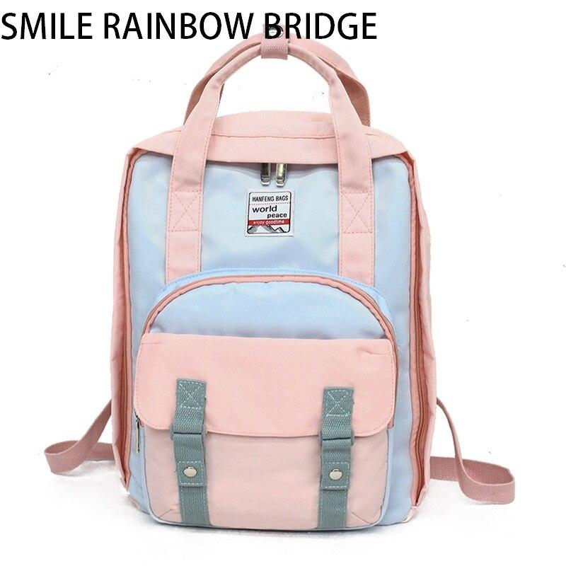 Brand Large Lady Fashion Waterproof Laptop Backpack Women School Backpacks Travel Casual Lady Shoulder Mochila Multifunctional все цены