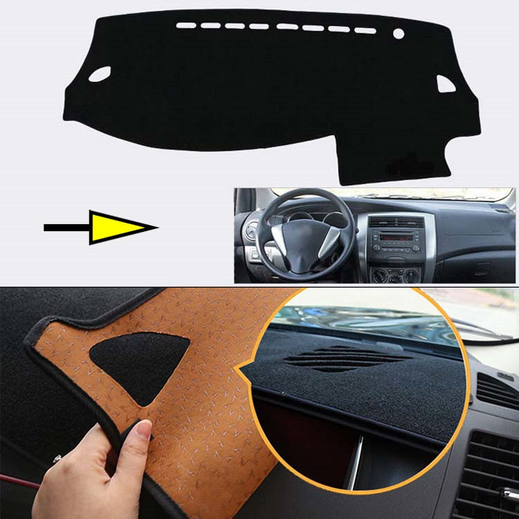 Brand New Interior Dashboard Carpet Photophobism Protective Pad Mat For Nissan Livina