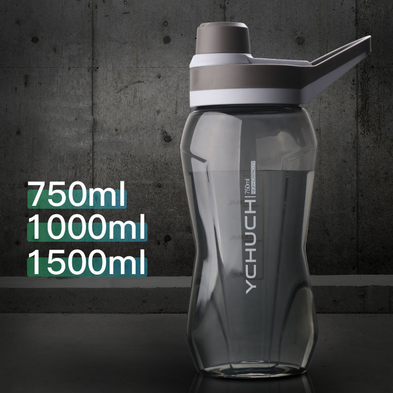 Water-Bottles Cycling Plastic Bpa-Free Large-Capacity Sport Gym Food-Grade 1000/1500ml