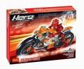 165 unids decool hero factory furno bike 7158 motocicleta bionicle de bloques de construcción eductional juguete diy ladrillos compatible con legoe