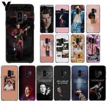 Yinuoda Tattoos Harry Styles  TPU black Phone Case Cover Shell For GALAXY s7 edge s8 plus s9 plus s6 s6 edge s10 все цены