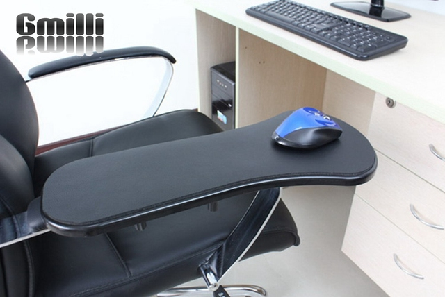 Gmilli Office Tables and chairs computer hand bracket mouse pad wrist length mats mic mousepad Dropshipping