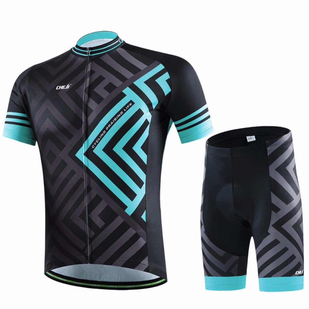 New Team  Pro Men Cycling Jersey Ciclismo ropa Bike Jerseys set Bycicle clothing short sleeve summer Ciclismo maillot 2017 new pro team cycling jerseys bike clothing ropa ciclismo breathable short sleeve 100