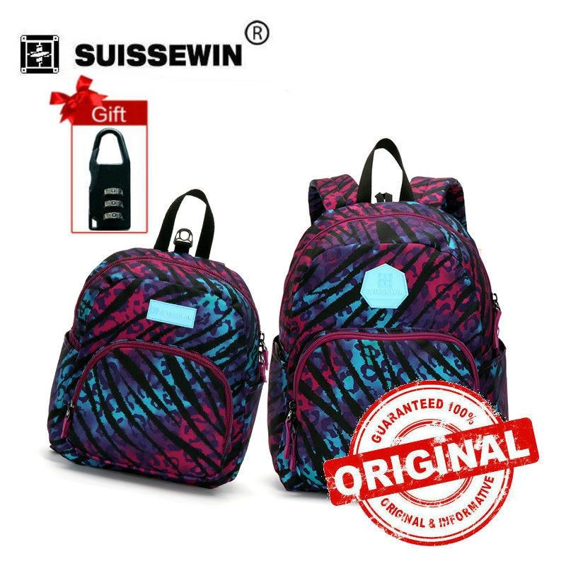 b588f1fdbe Suissewin Parent-child Set Bag Family Backpack Set Baby Kids Korean Backpack  Anti-lost Kindergarten Bag Gift to Parents SN2005
