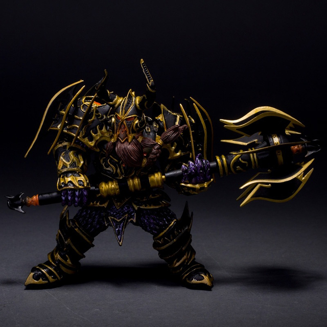 Hit WOW Online Game Series 1 Dwarf Warrior THARGAS ANVILMAR Action Figure PVC Toy (Chinese Ver.)