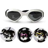 New Pet Dog Sunglasses Foldable Pet Dog Glasses Wind Protection Goggles For Small And Medium Dog