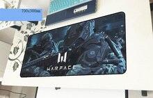 Warface геймерский коврик для мыши лучший 700x300x3 мм игровой коврик для мыши большой восхитительный ноутбук pc аксессуары ноутбук padmouse эргономичный коврик