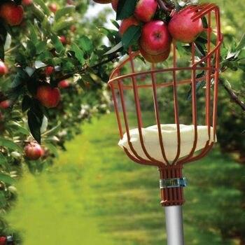 חדש פירות פיקר סל לוכד קטיף טרי כתום גן כלים עבור מטאטא מוט מקל