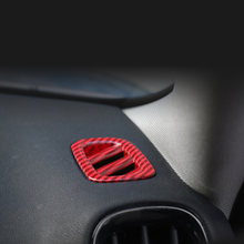 2 шт красочные Реальные углеродного волокна столб ac вентиляционное