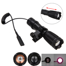 OSRAM 10w 940nm IR LED Zoomable Night Vision Infrared Radiation Flashlight Torch uniquefire 1502 4715as ir850nm ir flashlight zoomable 3 modes night vision led lamp torch fill light night vision to hunt