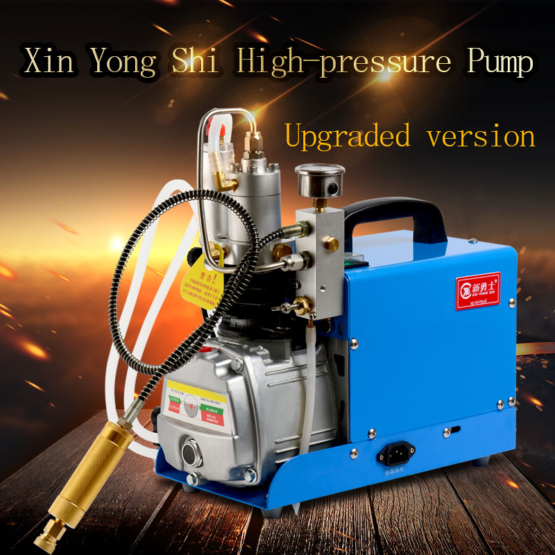 300BAR 4500Psi 30Mpa High Pressure Water Cooling Air Pump 220V Electric Pump Miniature Air Compressor PCP for Car Home Industry 520w cooling capacity fridge compressor r134a suitable for supermaket cooling equipment