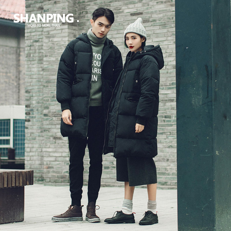 SHANPING/2016 Winter Coat New Parka Casual Outwear Military Hooded Thickening Cotton Coat Winter Jacket Coats Women&Man Clothes hot sale new winter mens jacket and coats fashion men cotton coat hoodies wadded military thickening casual outwear h4573