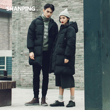 SHANPING/2016 Winter Coat New Parka Casual Outwear Military Hooded Thickening Cotton Coat Winter Jacket Coats Women&Man Clothes