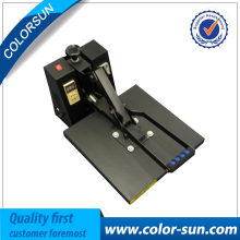 High pressure flat T shirt heat press transfer machine 40cm 60cm