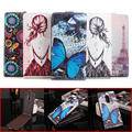 5 Painted Stylesfor Lenovo K6 Note 5.5 Inch Case Flip Leather Luxury Stand Shell Case For Lenovo K6 Note With Phone Holder