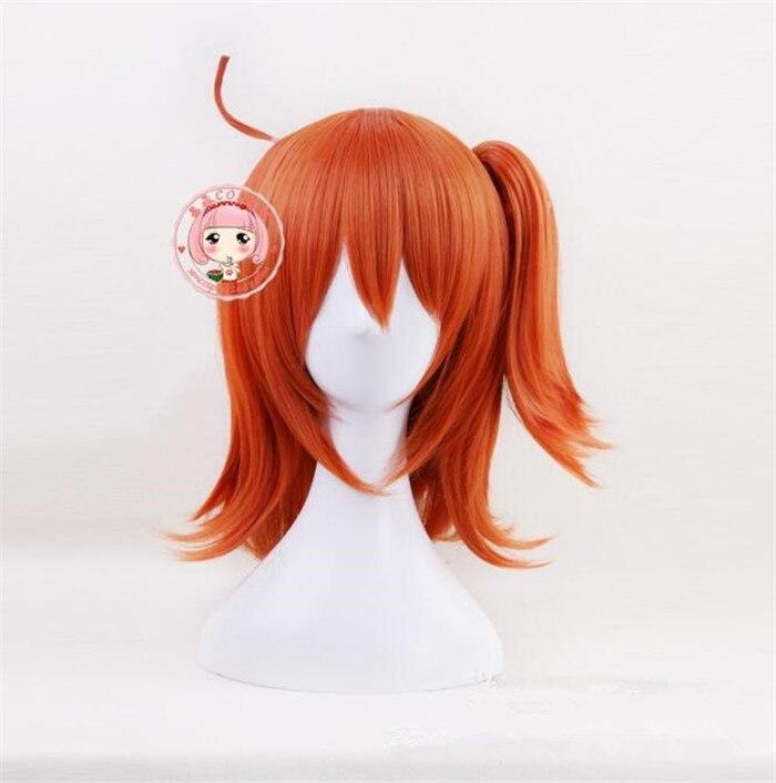 Gudako Cosplay Parrucca Destino/grand Ordine Arancione Di Gioco Del Costume Parrucche Di Halloween Costumi Cosplay Capelli Parrucca A586 Caldo E Antivento