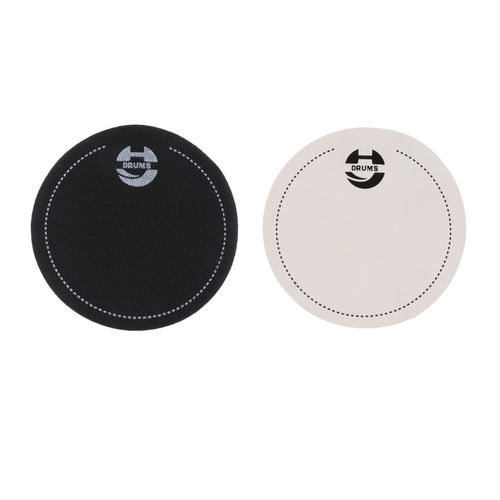 Single Step Bass Drum Head Pad Impact Patch Drumhead Protector For Percussion Instrument Parts Drums Accessories