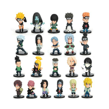 HOT Anime Naruto Set of 21 pcs Action Figures 2 PVC Dolls Collectibles font b Toys
