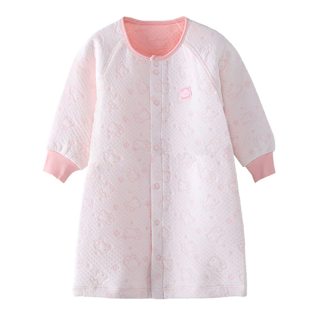 9c3adff82 New Pink Baby Girl Clothes Sleep Newborn Gown Long Sleeve Baby ...