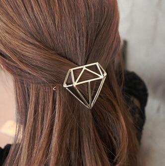 New Arrival Women's Metal Hairpins Girl's Punk Rock Barrettes Fashion Hair Clips Hair Accessories 2016