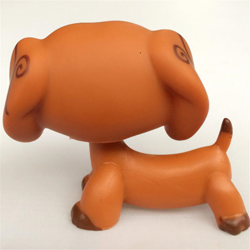 LPS Pet Shop Animal Doll LPS Figure Child Toy Gril Dachshund Dog DWA350