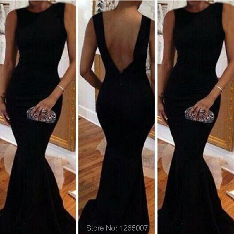 Online Get Cheap Plain Black Mermaid Dress -Aliexpress.com ...
