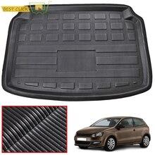 Fit For VW Volkswagen Polo 2010-2017 Hatchback Boot Liner Rear Trunk Mat Cargo Tray Floor Carpet 2011 2012 2013 2014 2015 2016