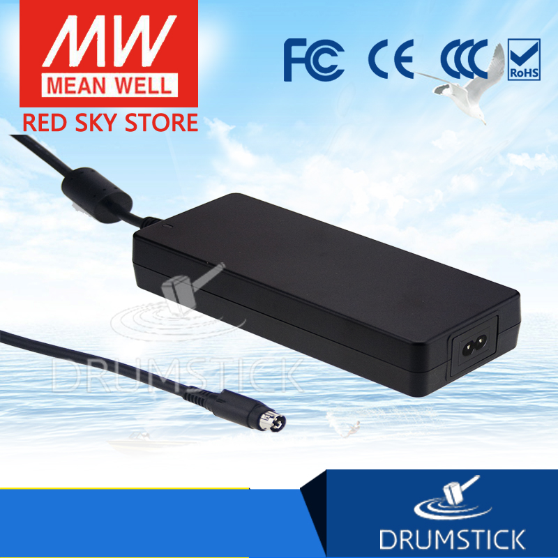 Genuine MEAN WELL GSM160A15-R7B 15V 9.6A meanwell GSM160A 15V 144W AC-DC High Reliability Medical Adaptor 1mean well original gsm160a24 r7b 24v 6 67a meanwell gsm160a 24v 160w ac dc high reliability medical adaptor