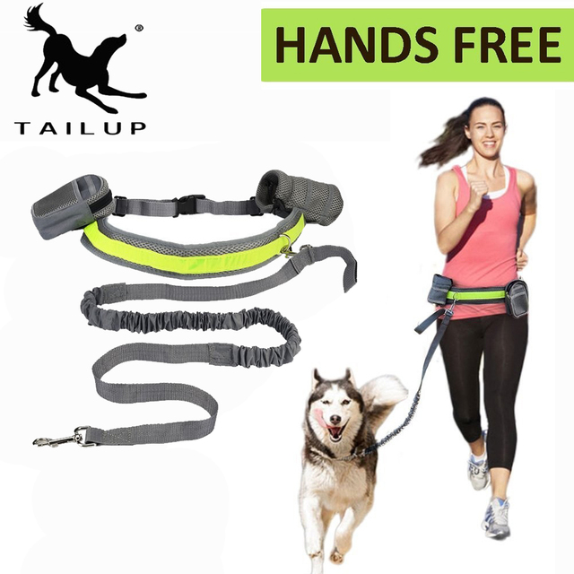 [TAILUP]Pet Products For Large Dog Hands Free Leash Leads Dog-Collar Pet accessories Puppy Dog Harness Leash For Animals PY0024