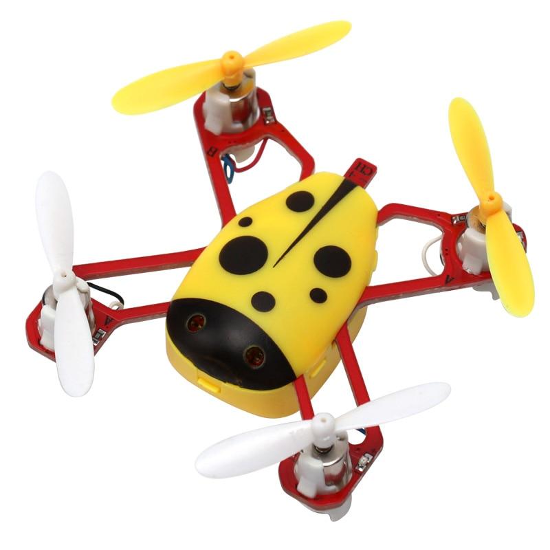 Cheer X1 Populyar Mini Uçan Uçan Ladybird RC Quadcopter 2.4G 4CH - Uzaqdan idarə olunan oyuncaqlar - Fotoqrafiya 1