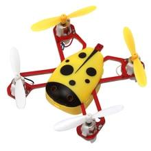 Развеселить X1 Популярные Мини Беспилотный Летающей Божья Коровка RC Quadcopter 2.4 Г 4CH Дистанционного Управления Quadcopter Nano Вертолет Трюк Беспилотный Toys