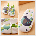 Soft Cartoon Style Baby Boys Girls Toddler Slippers Infant Garden Shoes Baby First Walker Cotton Skid - Proof Shoes LSX011