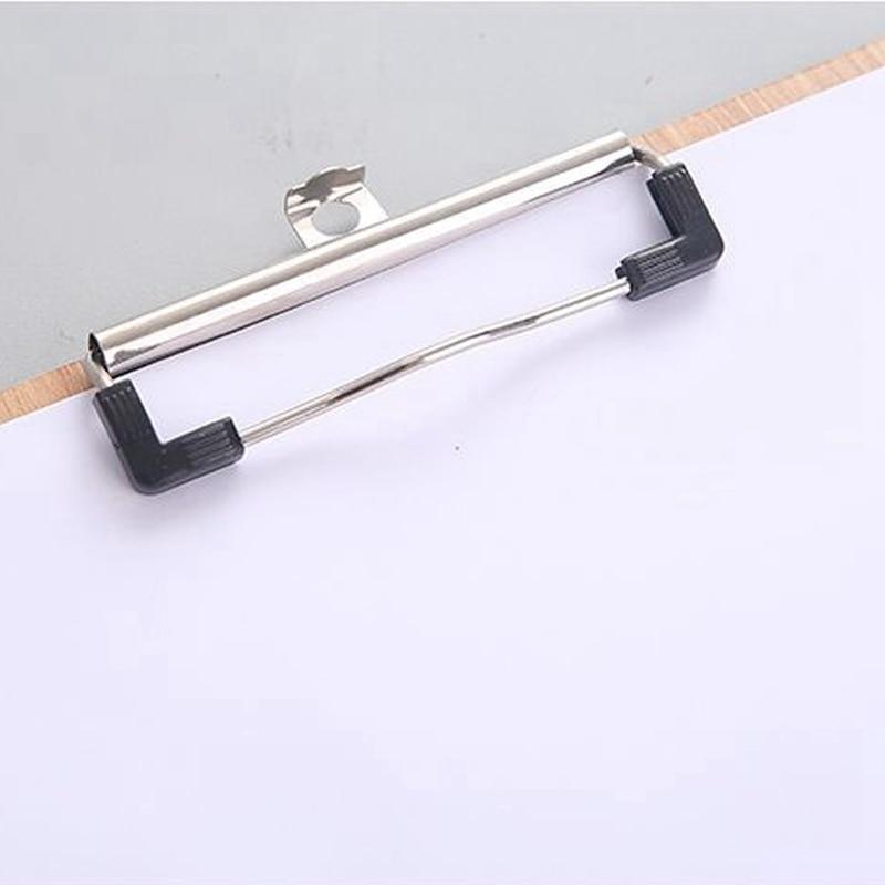 Новый А4 Размер Деревянный планшет клип доска офисные школьные канцелярские принадлежности с подвесная папка с отверстиями для файлов стационарная доска твердая доска Wri