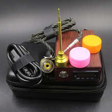 Hot Sales D Nail kit E Titanium Nails suit 10mm Coil Flat 110V 220V D-Nail E-Nail Box Temperature Control