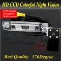 Para La Cámara Del Coche Cámara de Visión Trasera Con 4 LED HD de la Cámara CCD Para KIA Sportage R 2011-2012/K3