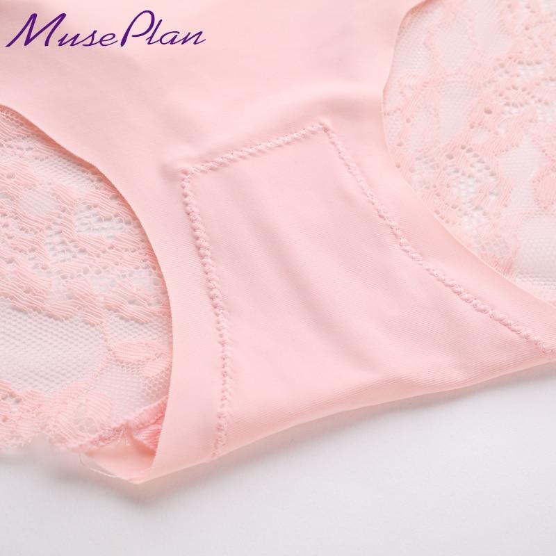 47621fe1861 women's sexy lace panties seamless cotton breathable panty hollow briefs  Plus Size girl best brand underwear-in women's panties from Underwear &  Sleepwears ...