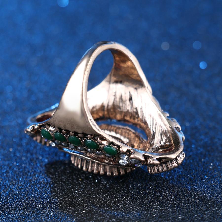 Turkey Jewellery Blue Vintage Wedding Wedding Rings For Colour - Նորաձև զարդեր - Լուսանկար 4