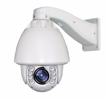 Auto tracking speed dome PTZ Camera 1.3MP 20X Zoom Waterproof IP CCTV Security outside camera audio alarm