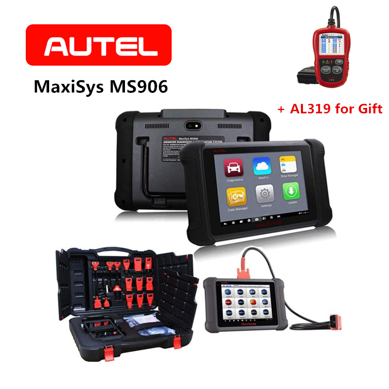 AUTEL Maxisys MS906 Automotive Diagnostic Scanner Scan Tool Code Reader OE-level Vehicle Coverage of Read Erase Codes etc. ieasy300 pro automotive diagnostic scan tool code reader 10 obdii test modes read