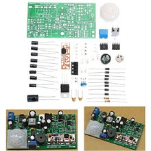 DIY Pyroelectric Infrared Sensor Kits Anti-Theft Circuit Electronic Technology T