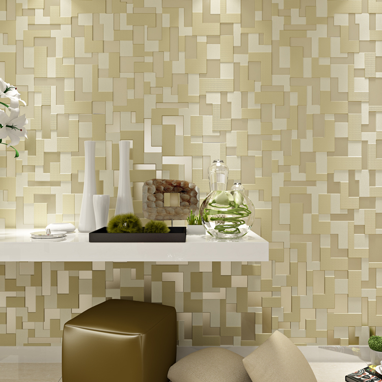 ФОТО beibehang papel de parede stereoscopic video wallpaper for living room wall mosaic non-woven wall paper embossed contact paper