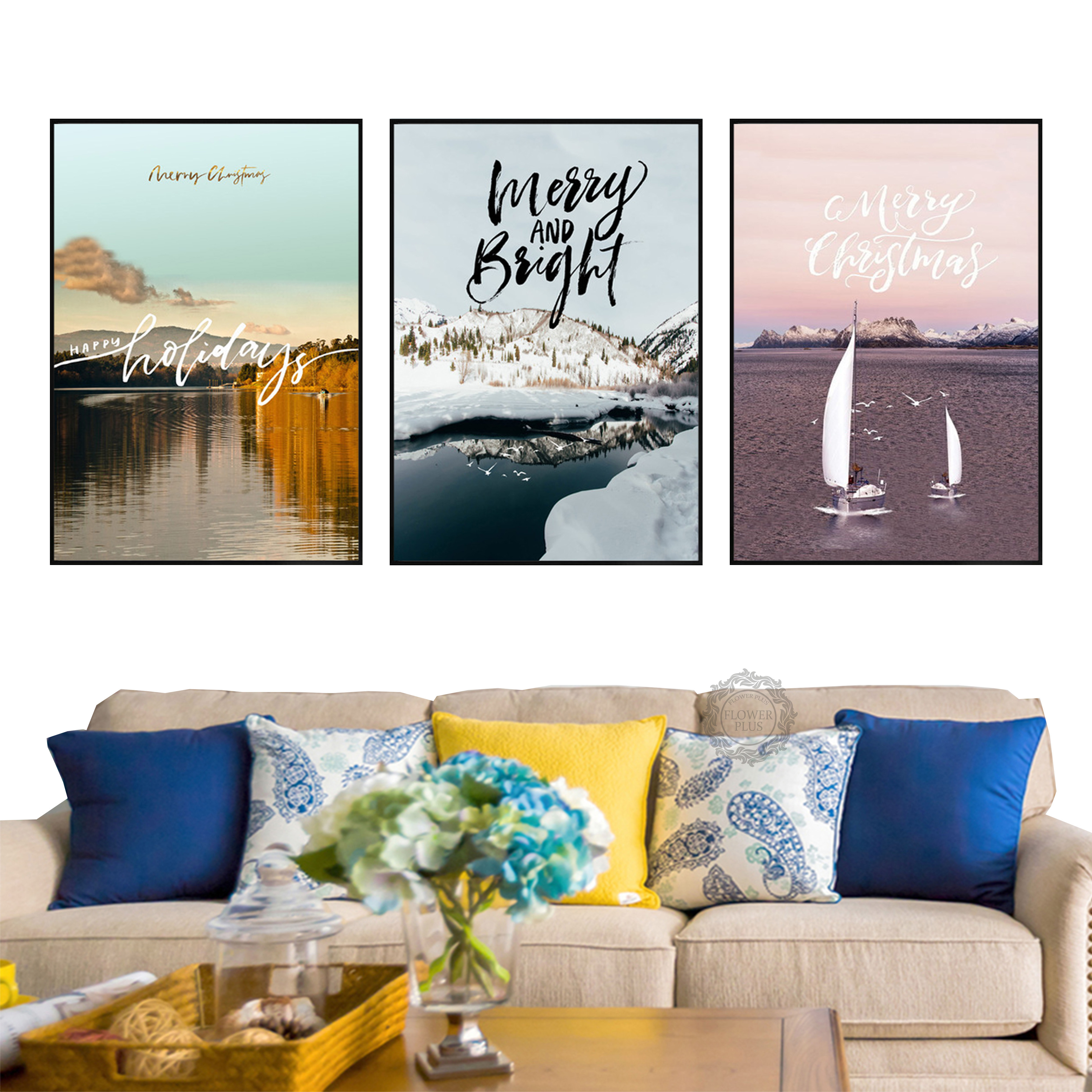 Nordic Minimalist Architecture Print Picture Wall Art Canvas Modern Paintings Poster Decoration for Living Room No Framed in Painting Calligraphy from Home Garden