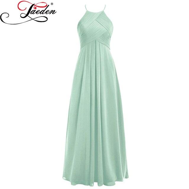 Abendkleid pastell grun