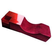 Extensiones de almohada de pestañas, almohada de franela y PU para salón de pestañas, herramientas de maquillaje, almohada de pestañas injerto, almohadas de soporte ergonómico para cuello