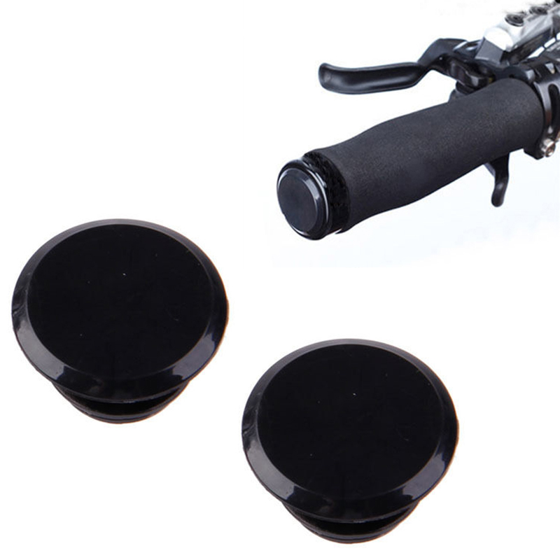 1 Pair Cycle Road MTB Bike Handlebar End Lock-On Plugs Bar Caps Top Covers