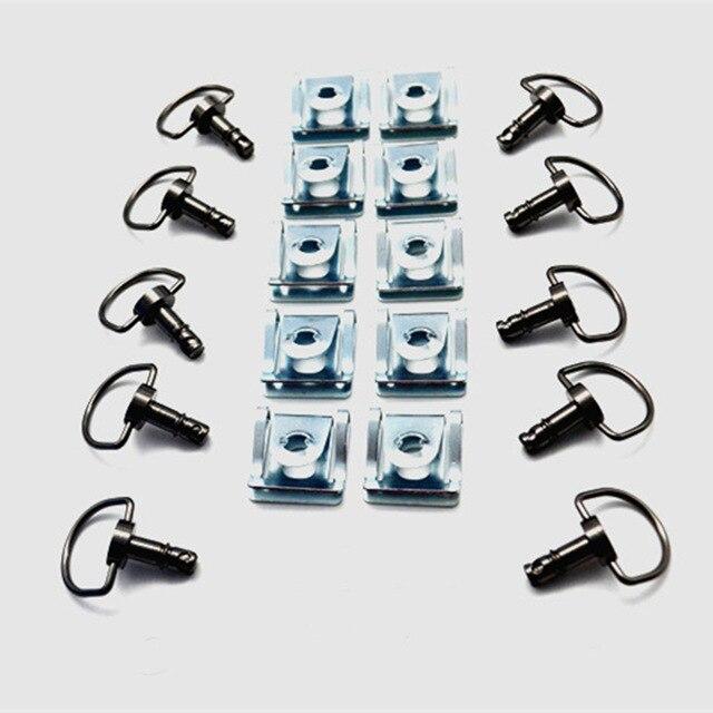 14 мм быстросъемное D-образное кольцо обтекатель Универсальный застежка для Honda Для BMW для DUCATI аксессуары для мотоциклов